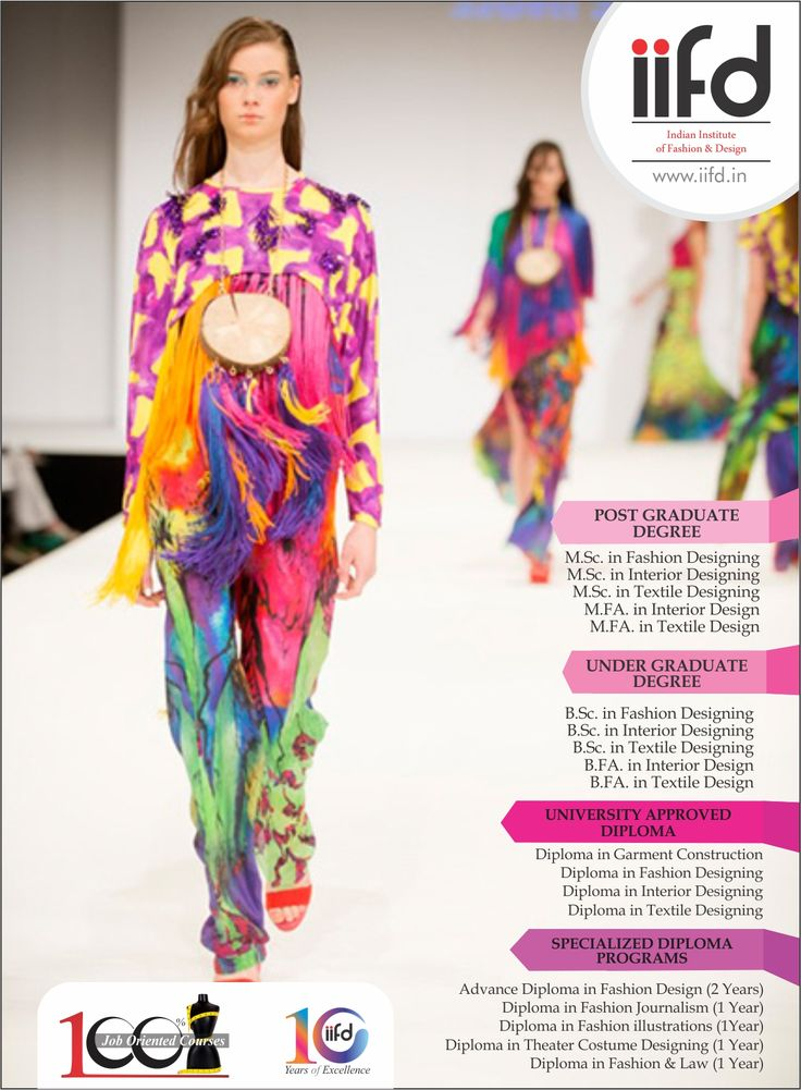 Best Indian Institute Of Fashion Design 100 Placement Call Now