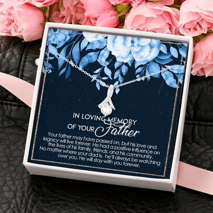 Dad memorial gift loss of father gift sorry for your loss