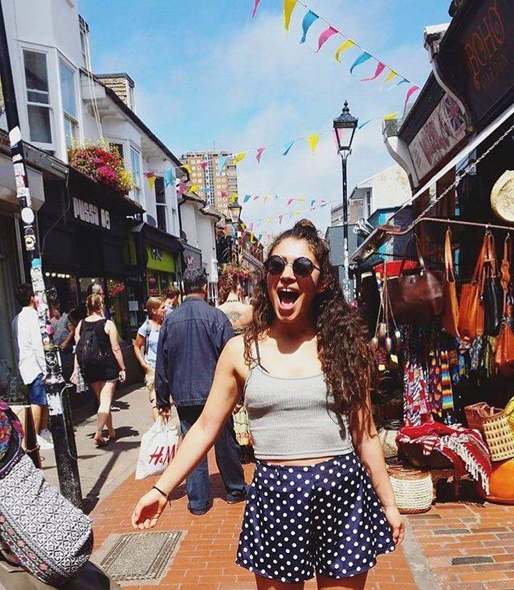 Scoping out the dessert shops in Brighton England  regram from our exchanger @sotiria_v #england #brighton #shopping #city #town #street #travel #instatravel #travelgram #igtravel #instapassport #explore #neverstopexploring #adventure #travelblogger #instagood #instamood #instadaily #vsco #photooftheday #picoftheday #fun #tourist #traveling #traveler #wanderlust #tourist