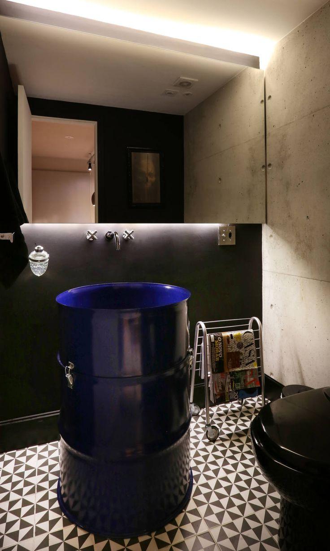 Apartamento com planta flexível ganha estilo industrial - Emais - Estadão