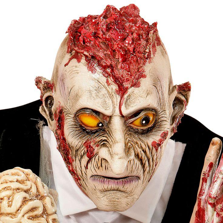 Máscara Zombie Descerebrado #máscaras #antifaces