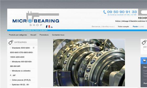 Micro Bearing France - Vente en ligne de composants mécaniques de transmission     - Maule, Yvelines, Île-de-France