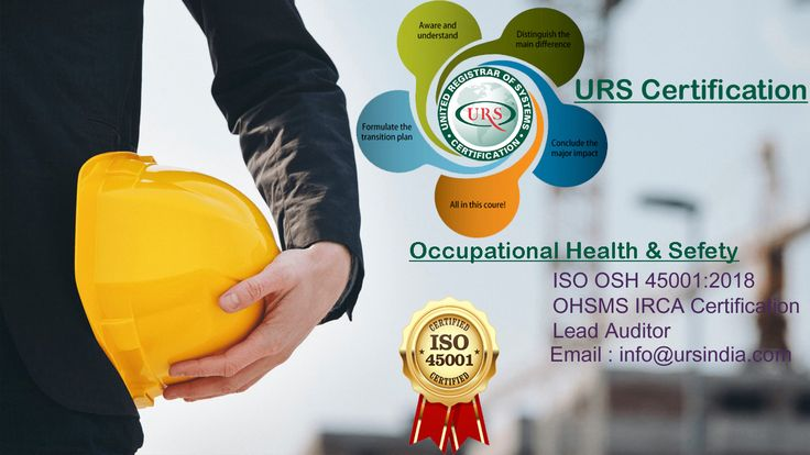 Iso 450012018 certification benefits health and safety