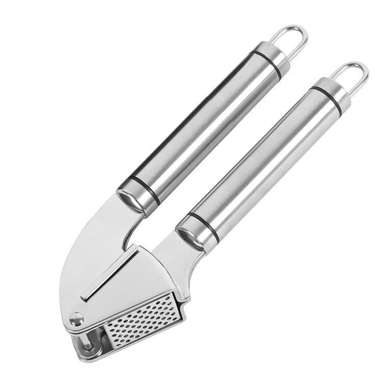 Garlic Press And Peeler - Solid Stainless Steel Mincer #Affiliate