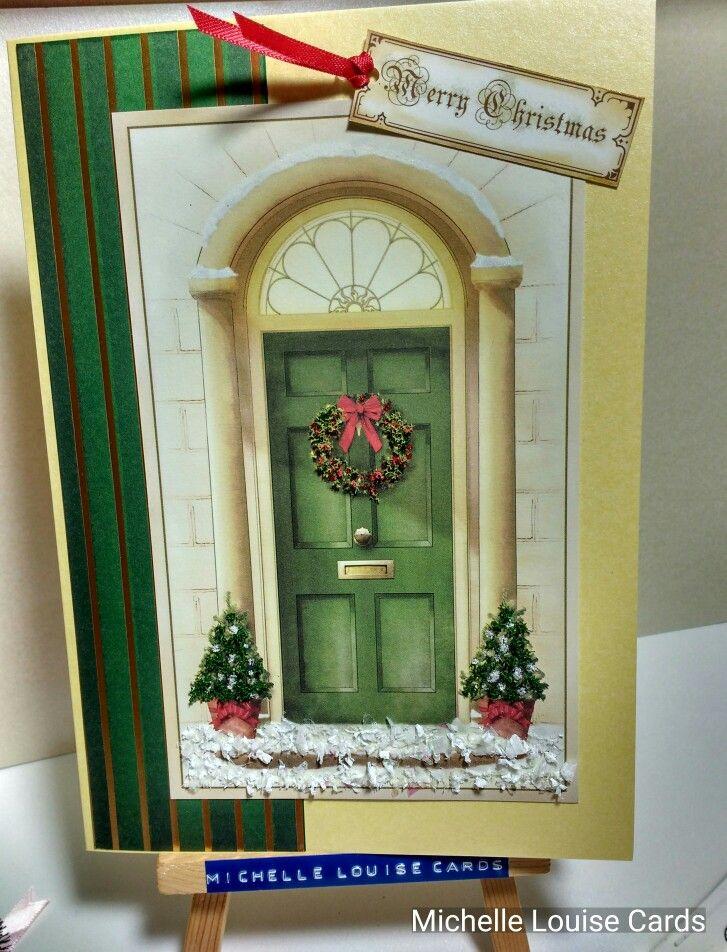 Flower Soft Christmas door