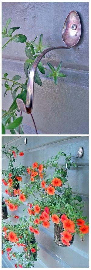 Simple DIY Planter Hangers by beautiful girl