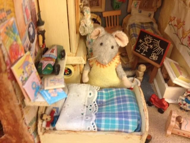 Miniature children's room - The Mouse Mansion