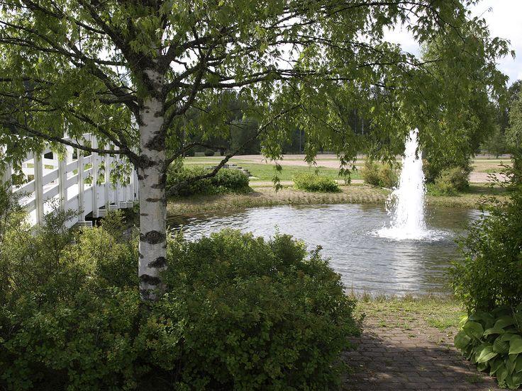 Lasimuseon suihkulähde, Tehtaanpuisto, Tehtaankatu. Kuva: Jaana Hodju