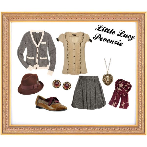 """""""Little Lucy Pevensie"""" by goedie2shoes on Polyvore"""