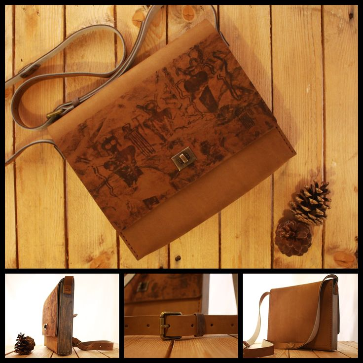 Handmade Wood Leather Bag on SALE on our etsy shop ^_^