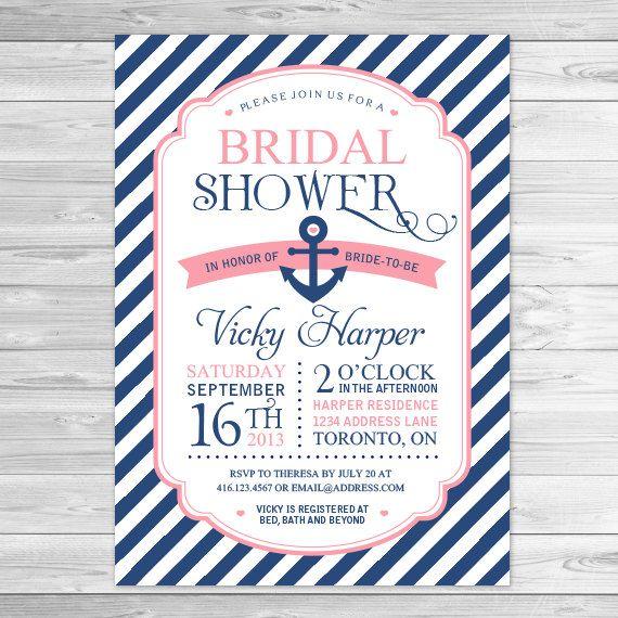 77 best Bridal Shower Invitations images on Pinterest Bridal