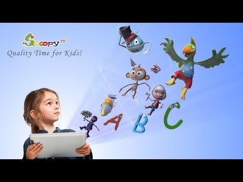 Bom... Não é bem uma TV interativa para crianças como diz a descrição, mas é interessante.  ▶ Scoopy TV: The First Interactive Kids TV ! - YouTube