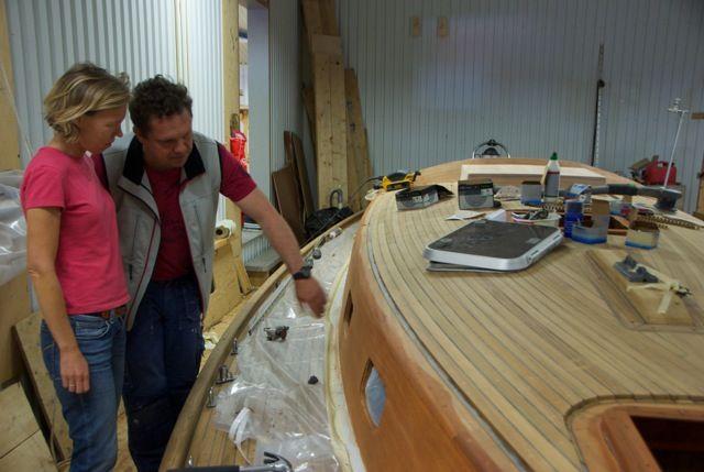Vindo 50 | ... beautiful material of wood to Karolina looking at the old Vindö 50