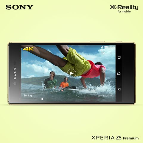 #Xperia #Z5 #Premium you can capture the world in incredible high-resolution 4K video. This means your videos have four times the detail of Full HD.