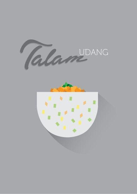 Talam Udang #flatDesign