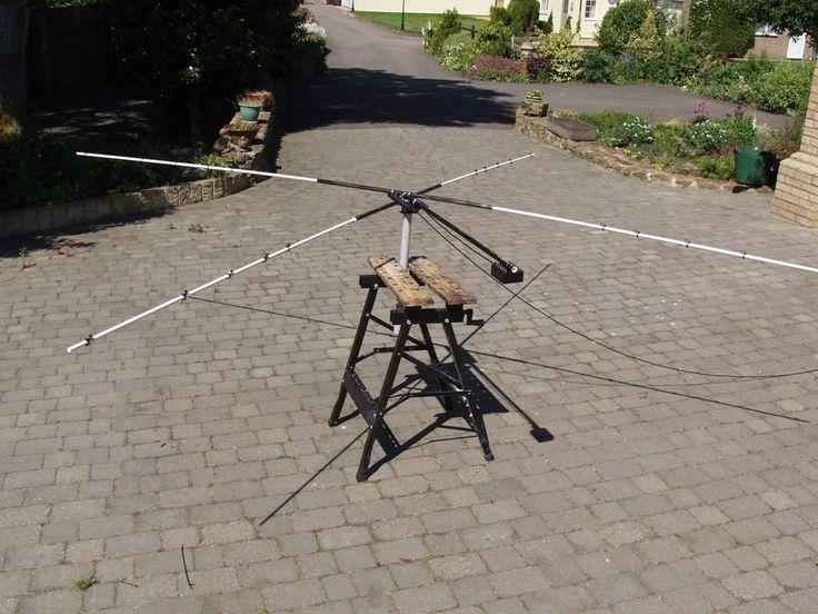 Homebrew Cobweb Antenna