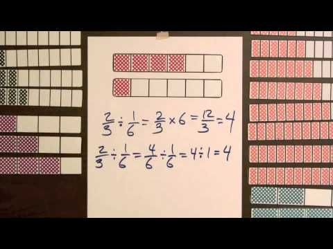 Division Step 1 - Model Dividing Fractions by Fractions (Video #19) - YouTube