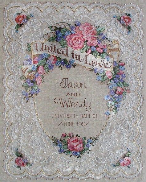 1242 Best Wedding Anniversary Engagement Stitchery Images