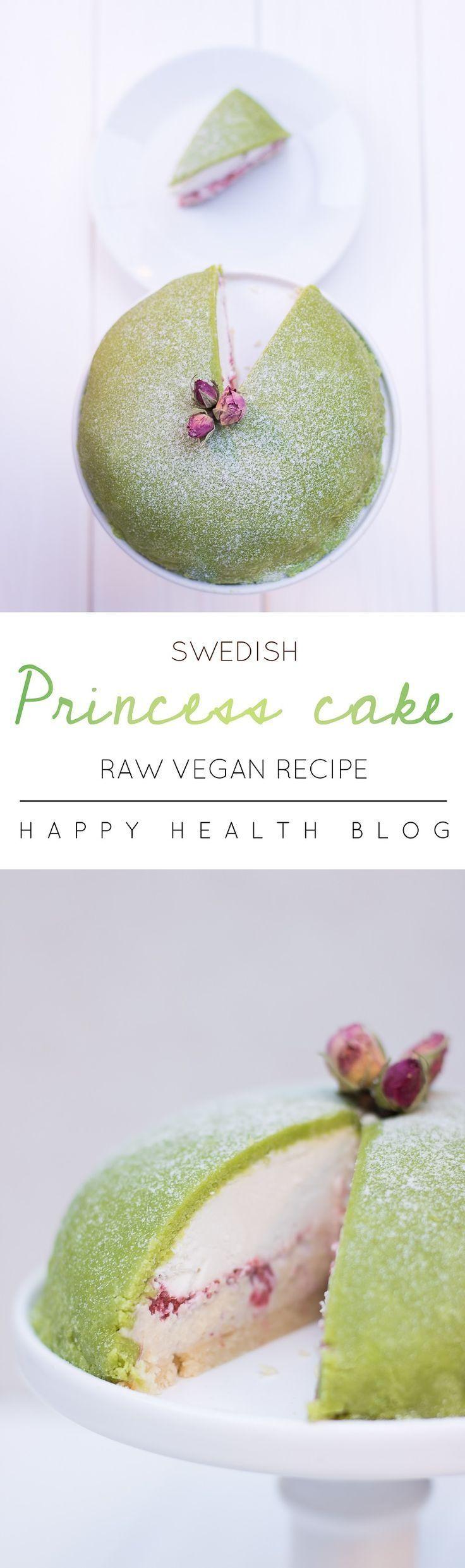 Raw vegan Swedish princess cake - happyhealthblog - Photo Natalie Yonan