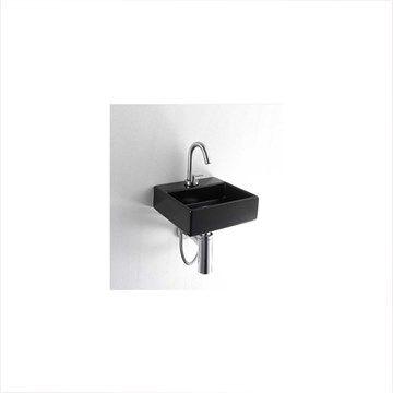 Sort Lille Square håndvask fra serien verdens mindste håndvaske.