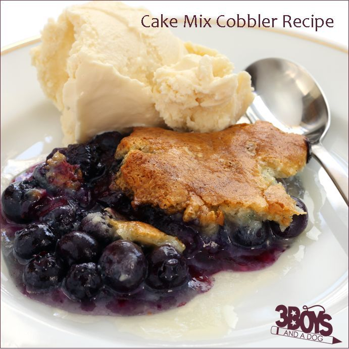 This Blueberry Cake Mix Cobbler Recipe is a favorite eaten almost right out of the oven AND it makes the entire […]