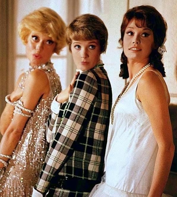 1967 Thoroughly Modern Millie. Julie Andrews, Mary Tyler Moore, and Carol Channing