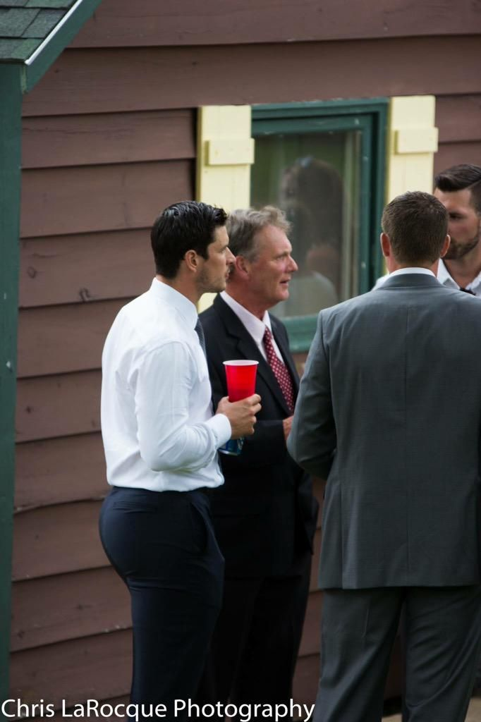 Best shot of the summer (Sid in NS at a wedding)