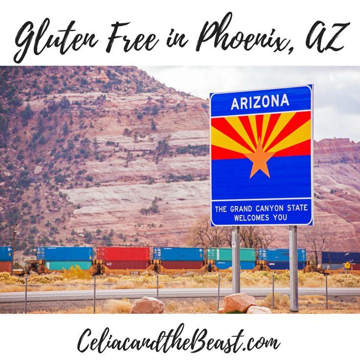 Visiting Phoenix soon? Here's where to eat GLUTEN FREE in Phoenix, Arcadia, Scottsdale, Mesa, and Tempe, Arizona!