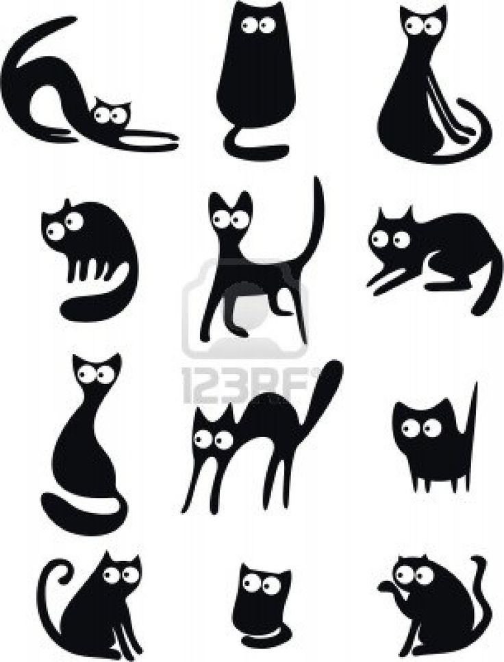 17 Best Images About Silhouette Cat Cat