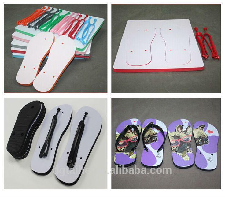 Blank custom flip flops, SBR rubber slippers