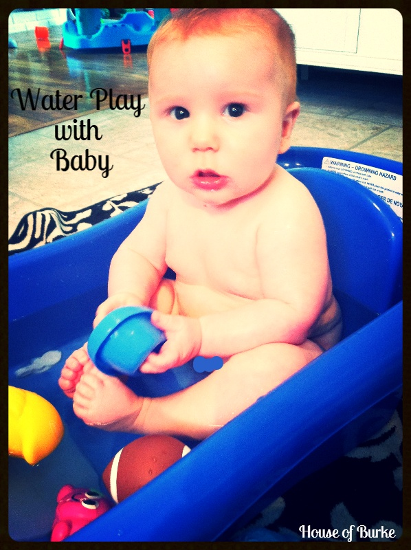 Water Play Sensory Exploration for Baby - House of Burke