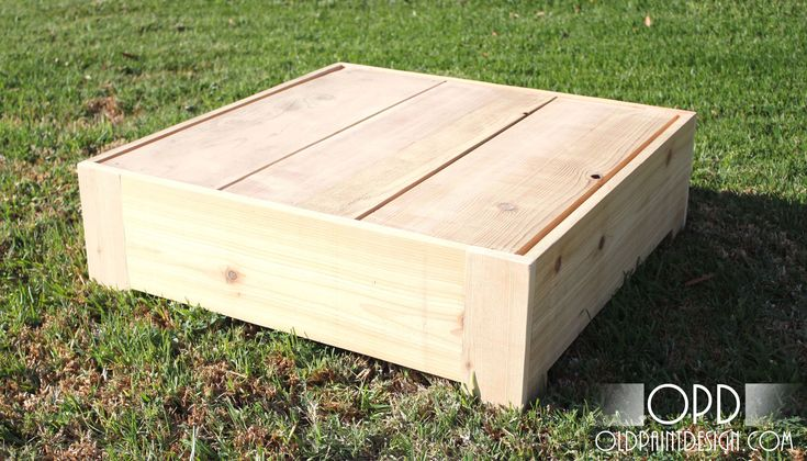 Ana White | Build a Bristol Outdoor Side Table | Free and Easy DIY Project and Furniture Plans
