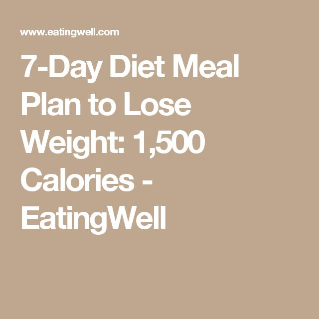 how to lose weight meal plan