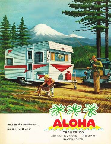 1000 Images About Vintage Aloha Trailers On Pinterest