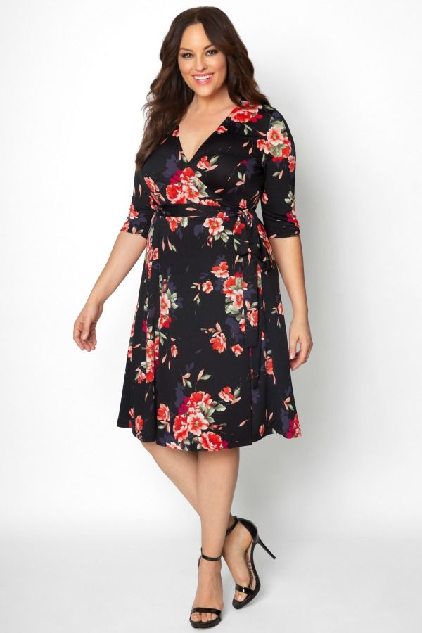 b2e72fdcb75 Shop plus size wedding guest dresses you can wear again. Our Essential Wrap  Dress is a picture-perfect style you ll love wearing to your next wedding.