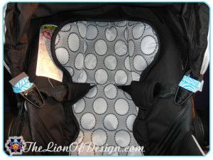 Car Seat Strap Holder - No more hassle of digging out tangled car seat straps from behind your baby as you are placing them in their seat. Simple and so helpful.