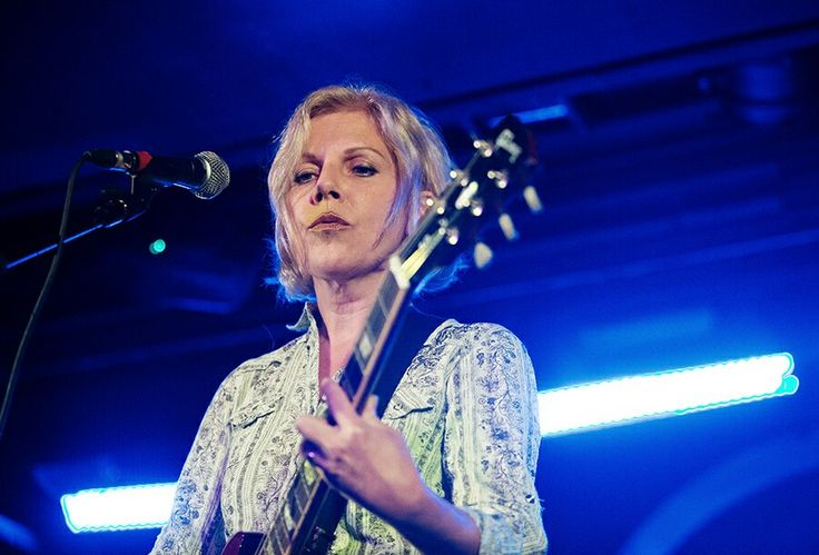 Tanya Donnelly of Throwing Muses at Oran Mor, Glasgow. Picture: Ross Gilmore.