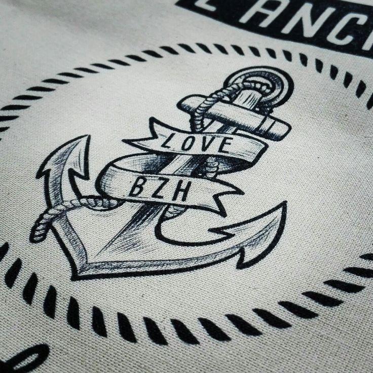 #love #bzh #madbzh #breizh #Bretagne #ancre #anchor #sea #morbihan #lifestyle
