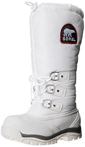 Sorel Womens Snowlion XT BootWhiteRed Quartz12 M US >>> Details can be found by clicking on the image.(This is an Amazon affiliate link and I receive a commission for the sales)