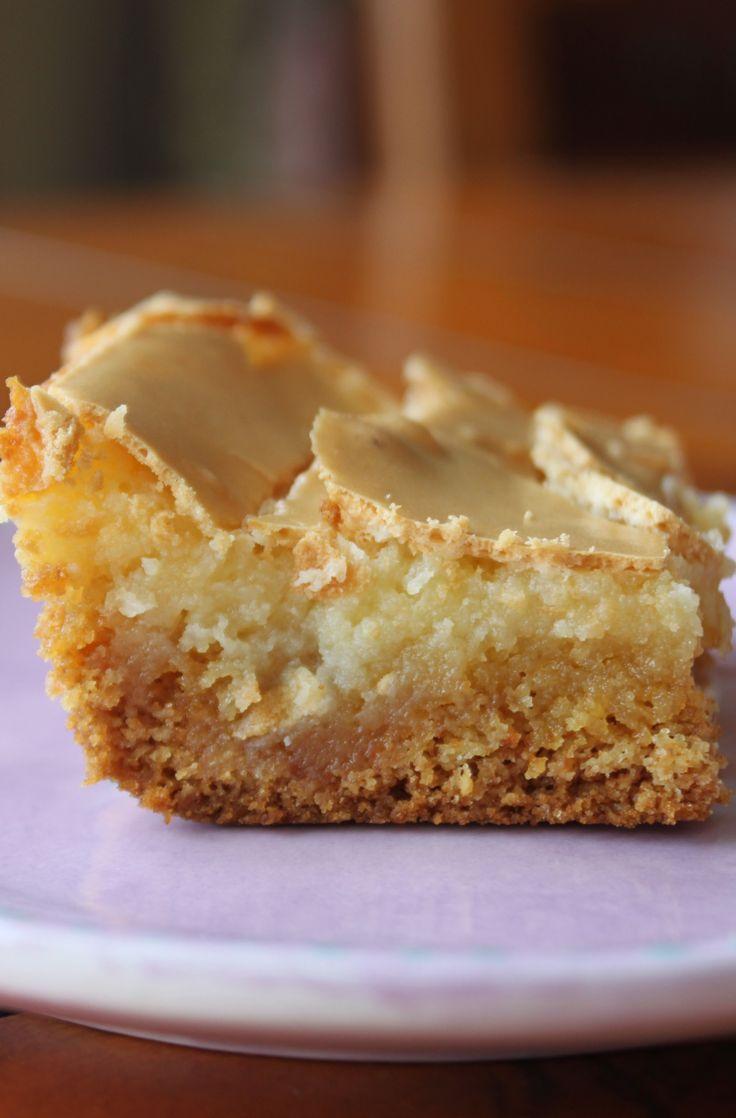 Chess bars- looks like my mom's recipe (delicious). If you want lemon bars, you use a lemon cake mix; if you want coconut bars a coconut cake mix...etc. Soooo simple.