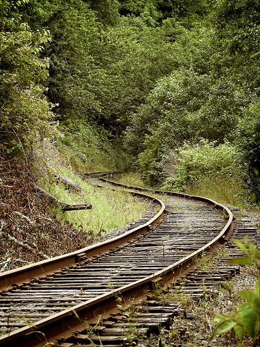 Train Tracks Oregon Coast