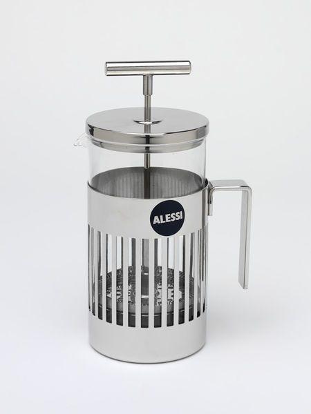 Press filter coffee maker, Aldo Rossi, Alessi, 1986
