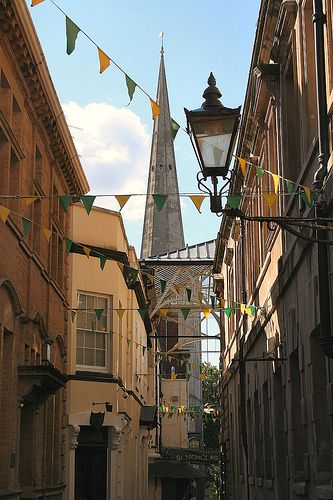 St Nicholas Market - my absolute favorite part of Bristol