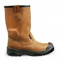 Scruffs Gravity S1-P Rated Safety Rigger Boot Brown
