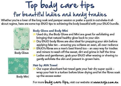 Love the ENJO body products!