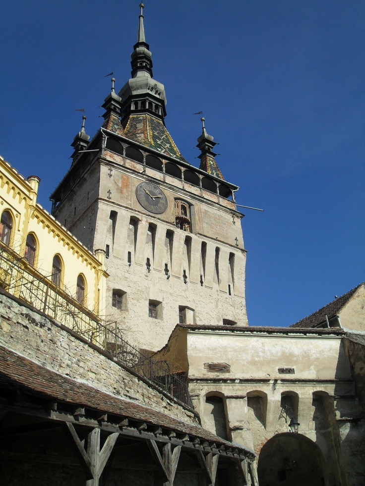 The Clock Tour in #Sighisoara!
