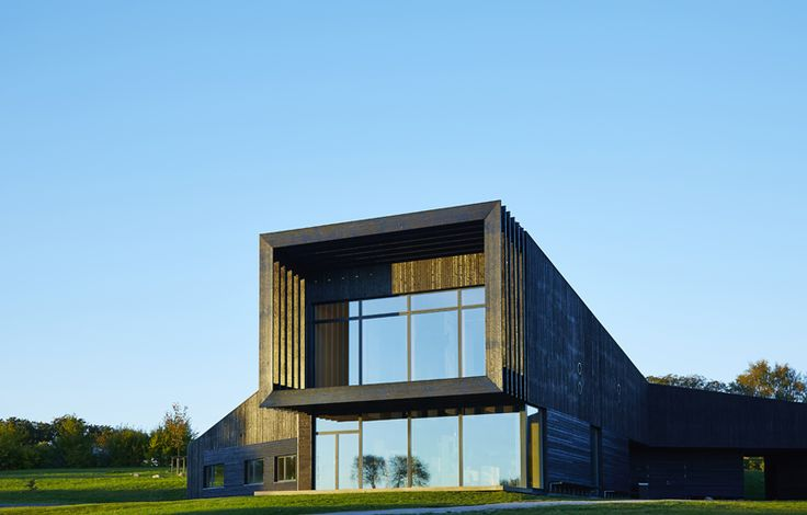 """""""Naturcenter Hindsgavl"""" is a project designed by AART architects. It has a view of the magnificent scenery surrounding the centre, and is the natural focal point for the many activities at the Hindsgavl peninsula."""