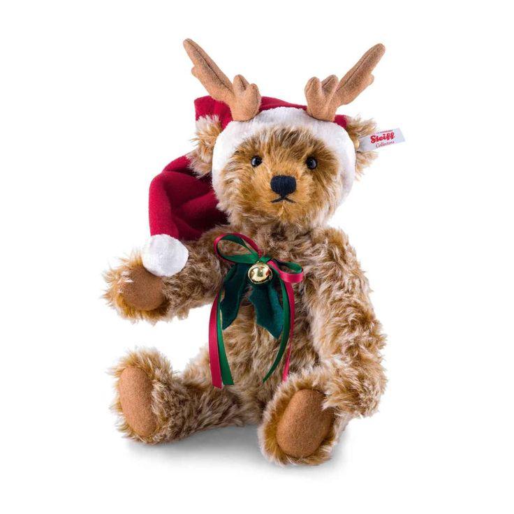 Reindeer Teddy bear caramel tipped - Steiff Online Shop United Kingdom