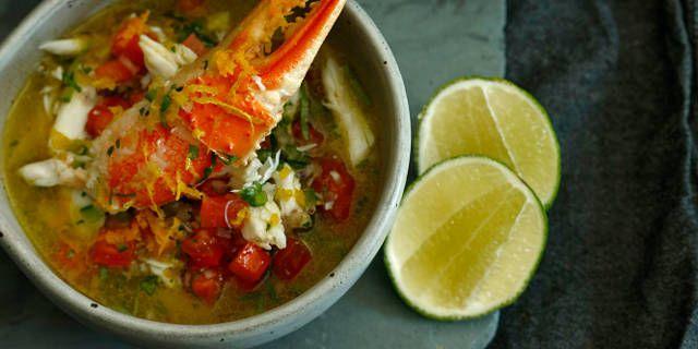 Jose Garces' Ceviche de Cangrejo (Crab Ceviche)