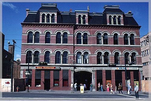 Old City Market building, Saint John, New Brunswick